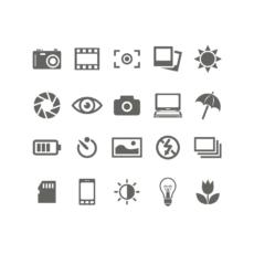 ikonky fotografování