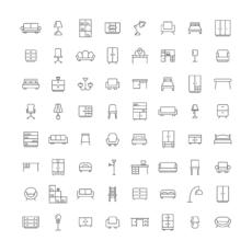 ikonky nábytek