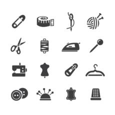 ikonky šití