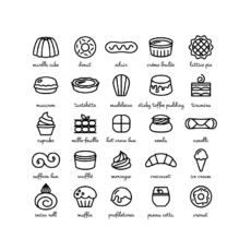 ikonky slavné zákusky