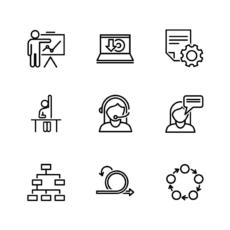 ikonky komunikace