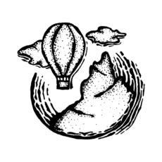 ilustrace balón hory